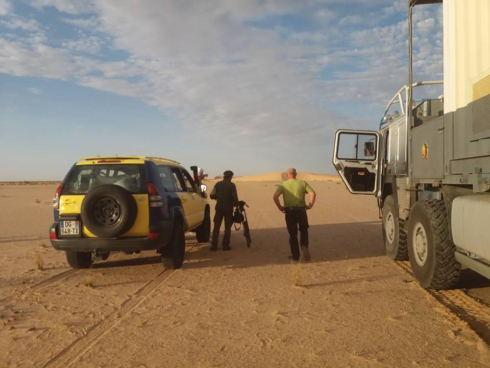 """Fortunes de route (Traversée du """"Sahara Occidental"""")"""